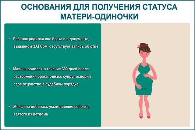 О матерях-одиночках: кто считается и относится, определение по закону в России