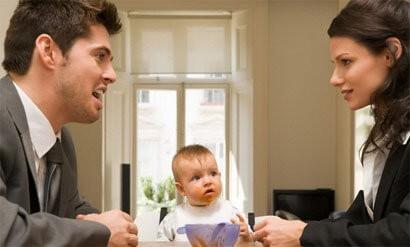 Об определении порядка общения с ребенком: после развода, время и часы, график