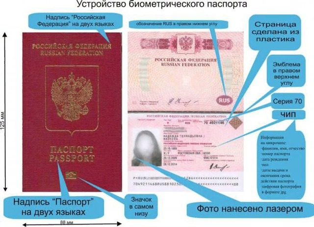 О документах нужных для получения паспорта: перечень, какие для оформления