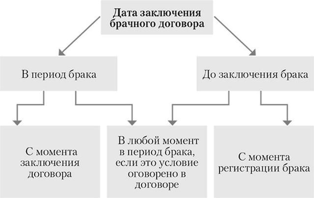О брачном контракте: что определяет, что вправе определить супруги