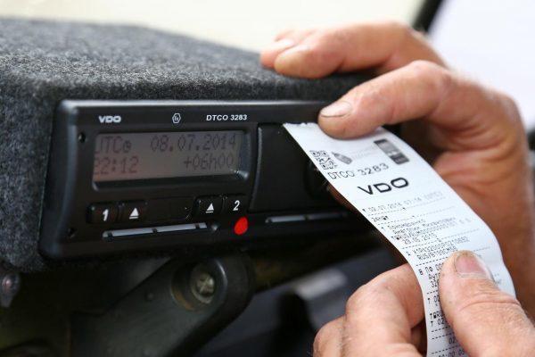 Штраф за несоблюдение режима труда и отдыха водителей по тахографу в 2018