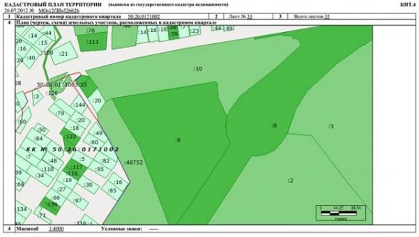 О кадастровом плане: что это такое, как получить для земельного участка, образец